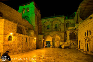 Jerusalem: Church of the holy sepulchre outside