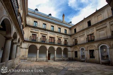 El Escorial: The Courtyard by Mgsblade