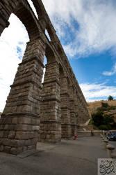 Aqueduct of Segovia by Mgsblade