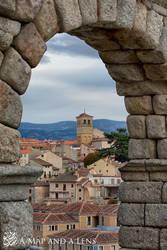 Segovia: Through the arch by Mgsblade