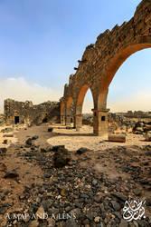 Um Al Jimal: The old Church by Mgsblade