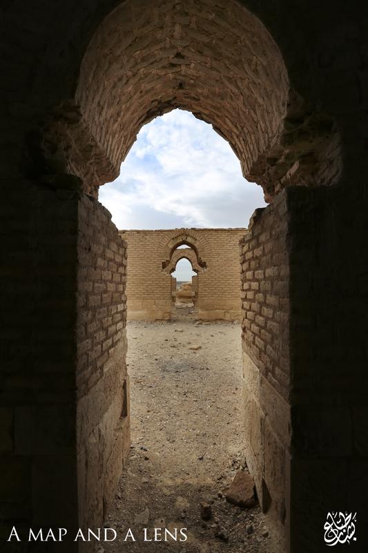 Qasr Tuba: Looking outside by Mgsblade
