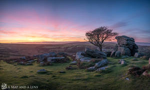 Sunset at Dartmoor