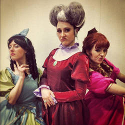 Lady Tremaine and Daughters