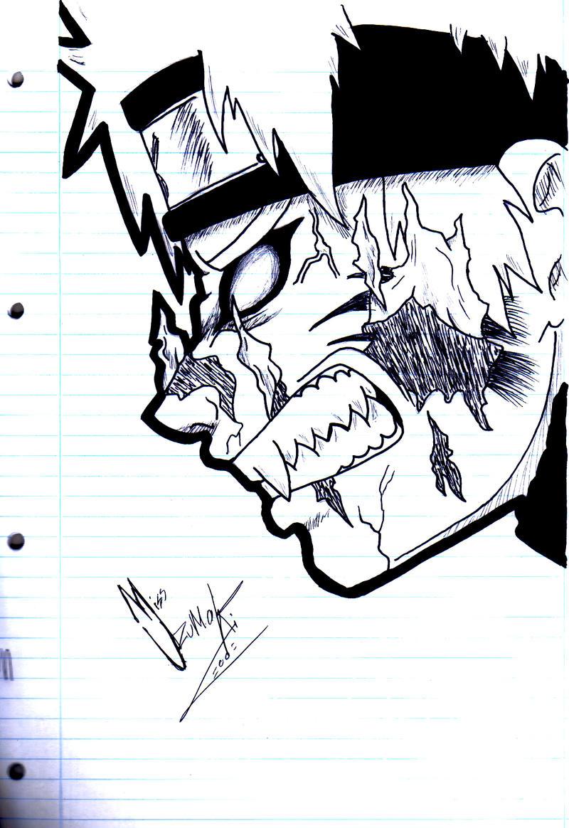 NarutoXSakuraLOVE Naruto Kyuubi Angry Face By