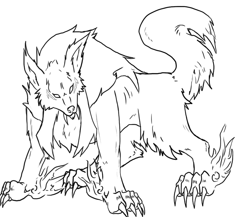 Inuyasha Demon Dog Form by NarutoXSakuraLOVE on DeviantArt Inuyasha Full Demon Form Dog Episode