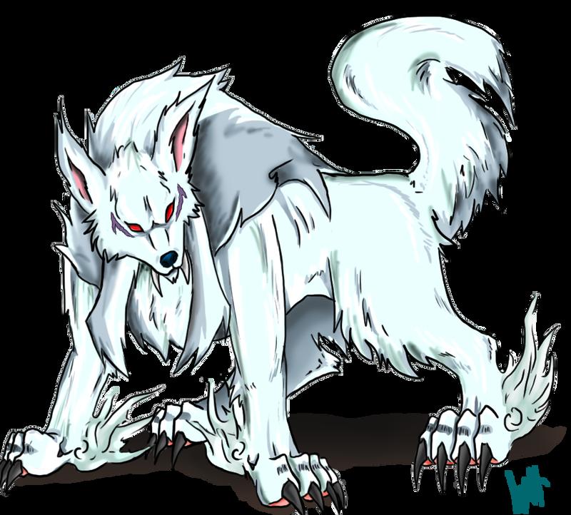 inuYasha demon Dog form color by NarutoXSakuraLOVE on ... Inuyasha Full Demon Form Dog Episode