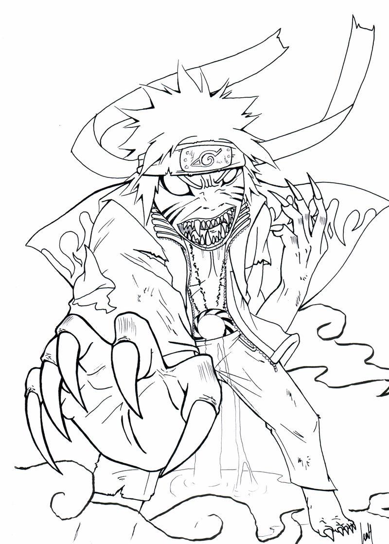 Naruto Sage Mode with Kyuubi rage by NarutoXSakuraLOVE on ...