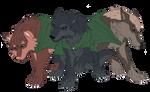 Levi's Thug Squad - SNK Wolf