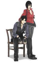 RivaMika_Resident Evil_Cross-over