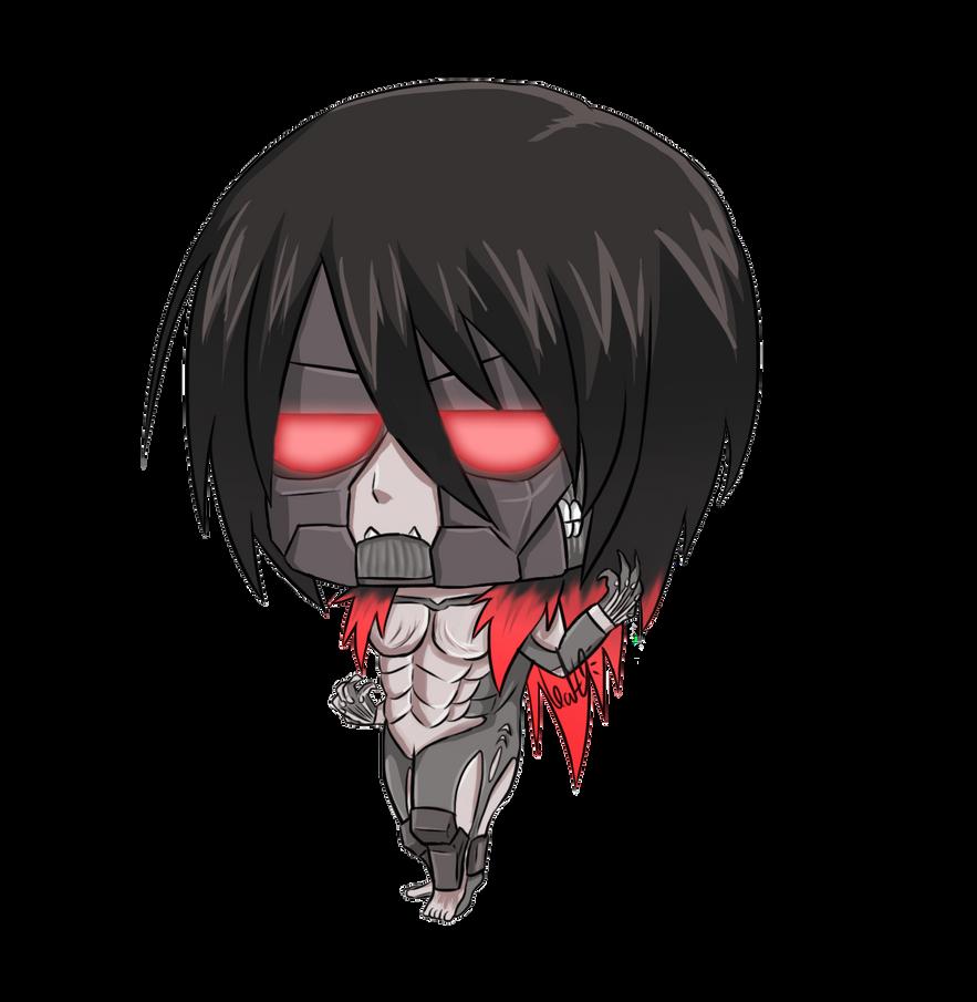 Mikasa ackerman titan form chibi by narutoxsakuralove on deviantart mikasa ackerman titan form chibi by narutoxsakuralove voltagebd Images