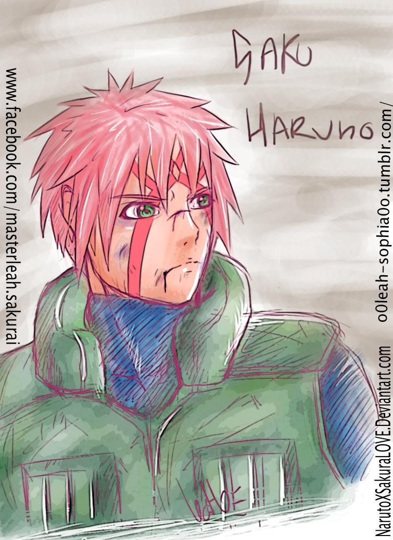Saku (Sakura) Haruno Sketch by NarutoXSakuraLOVE
