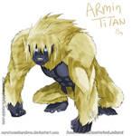 Armin Arlert Titan Form