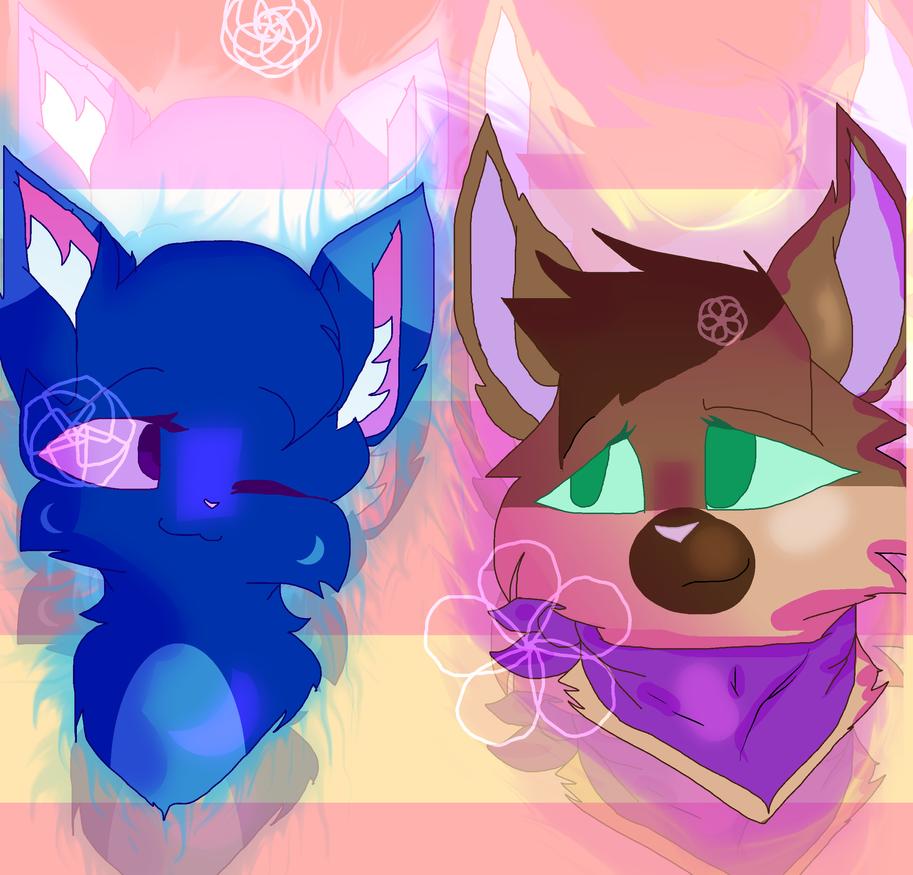 Jayden and Lynx art contest entry by Skylersokam