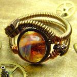 Steampunk Borosilicate Ring