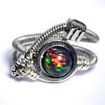 Cyberpunk Lab Opal Ring