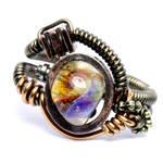 Steampunk Ring Borosilicate