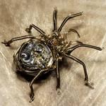 Steampunk Clockwork Spider