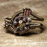 Steampunk Clock parts ring