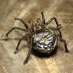 Clockwork spider steampunk