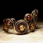 Steampunk Bracelet EPIC I by TheWizardsVault