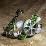 Steampunk Jewelry Bracelet X