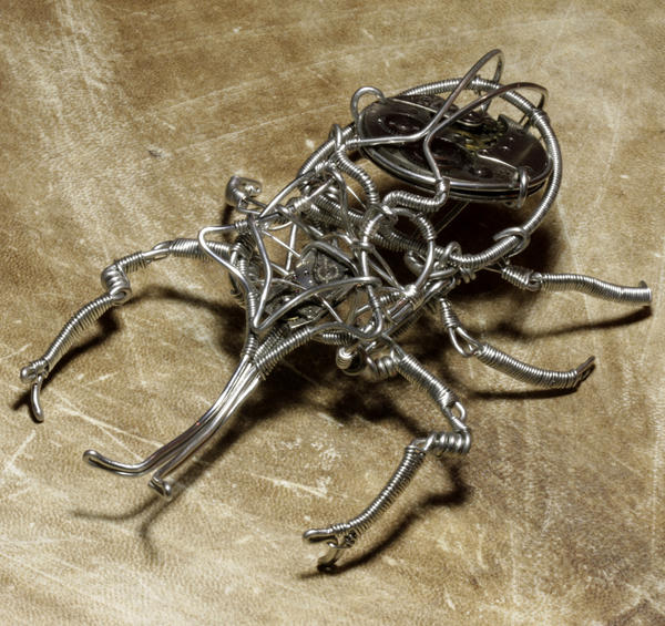 steampunk wire art for - photo #43
