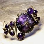 Steampunk Jewelry Bracelet A