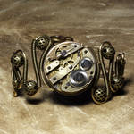 Steampunk Bracelet X