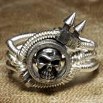 Cyberpunk Ring Spiked