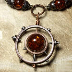 Steampunk Necklace Relic