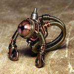 Stempunk jewelry Robot Ring