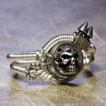 cyber skull Ring