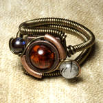 Steampunk Orrery ring 3