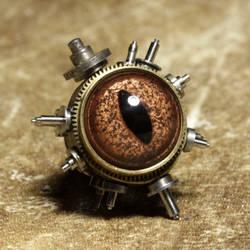 Steampunk Pin by TheWizardsVault