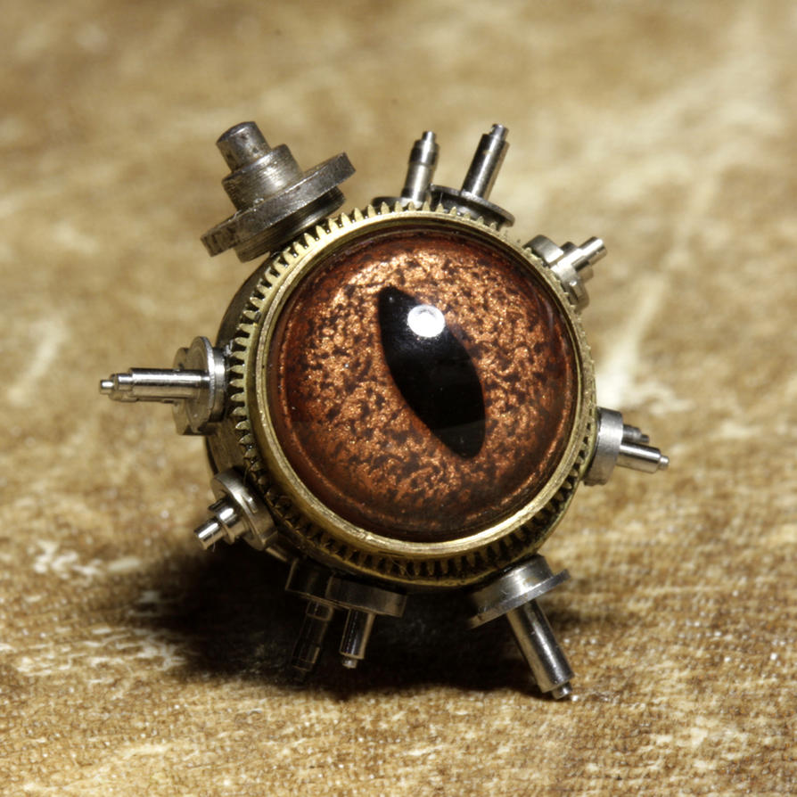 Steampunk Pin by CatherinetteRings