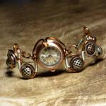 Steampunk watch bracelet