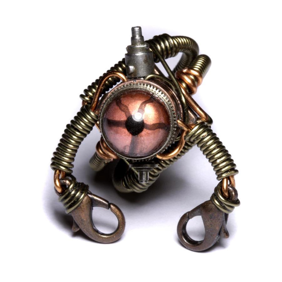 Steampunk Robot Ring 1