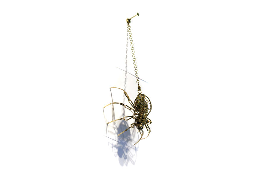 Steampunk Cyclopean spider by CatherinetteRings