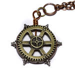 Steampunk Gear pendant