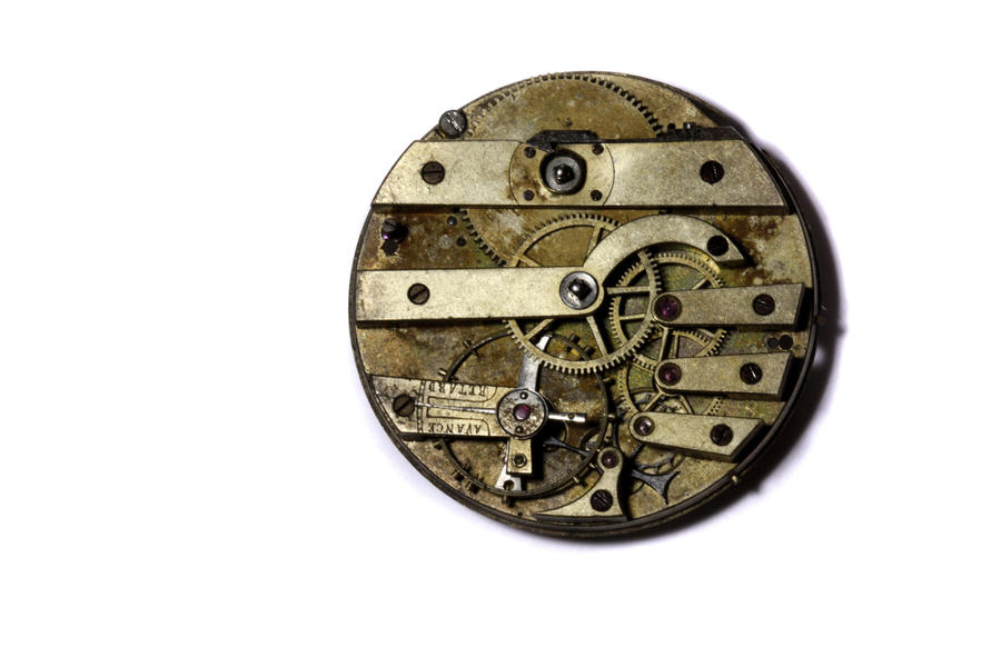 Steampunk pocket watch gear 1 by CatherinetteRings