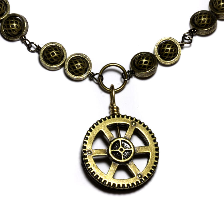 Is Steampunk Jewelry A Craft Or An Art: Steampunk Jewelry NeckGear By CatherinetteRings On DeviantArt