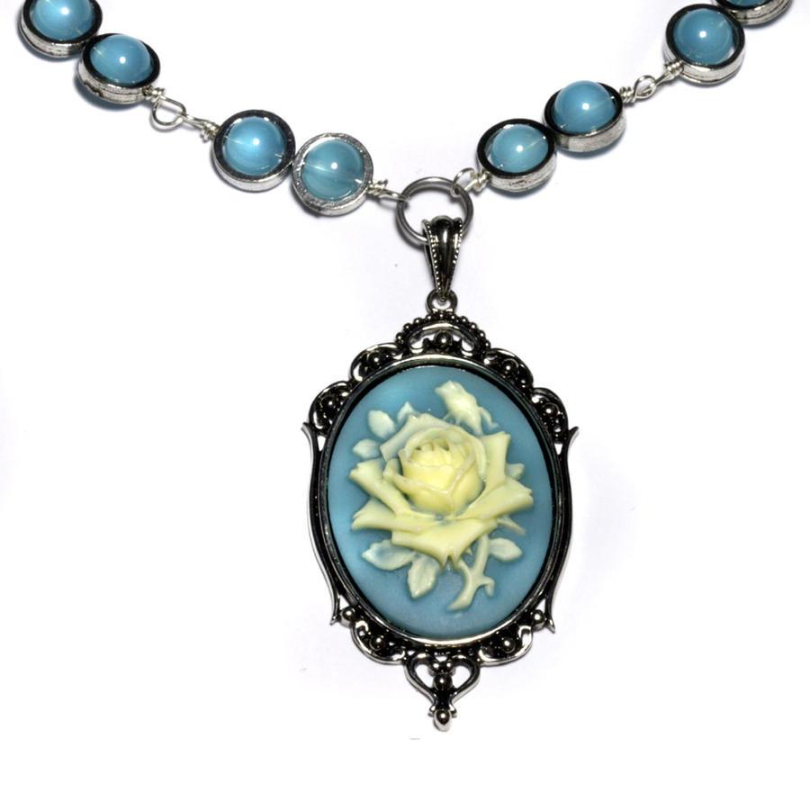 Glass beads bracelets contemporary jewelry cameo jewelry added online