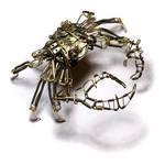 Steampunk Crab Sculpture