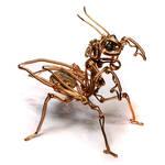 Steampunk Praying Mantis