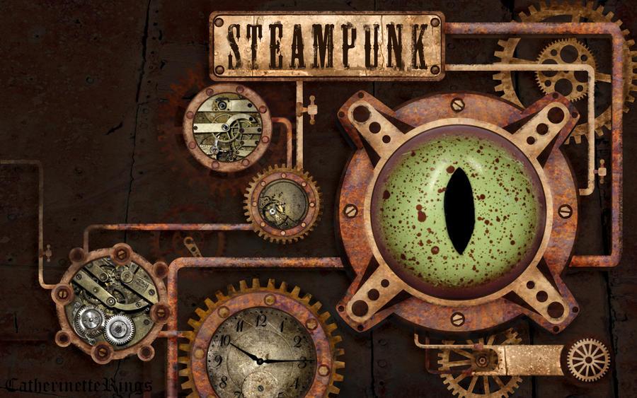 steampunk wallpaper by catherinetterings on deviantart