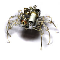 Musical Steampunk Spider Robot by CatherinetteRings