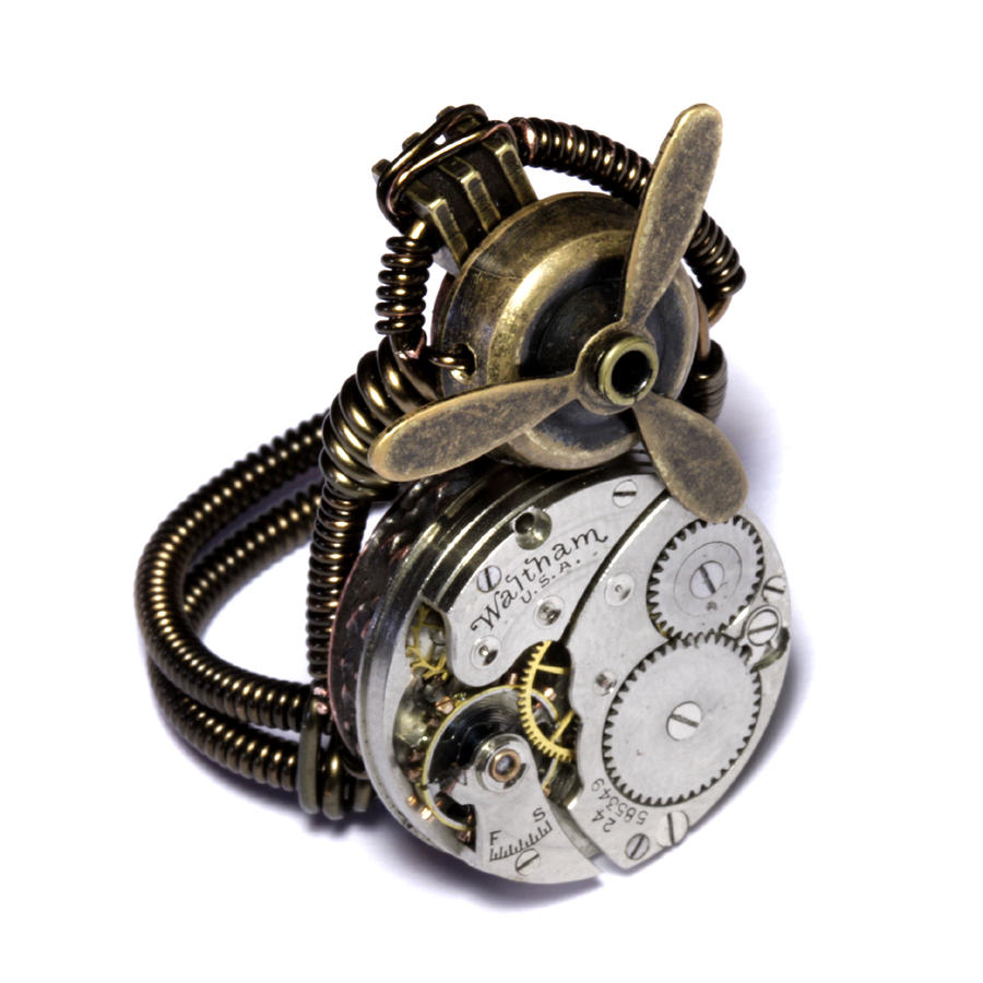 Airship Captain Steampunk Ring by CatherinetteRings on ...