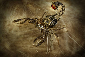 Steampunk Scorpion by CatherinetteRings