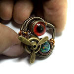 Airship Pirate Steampunk Ring